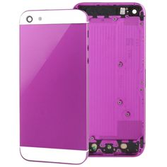 [USD12.45] [EUR11.24] [GBP8.71] Full Housing Alloy Replacement Back Cover for iPhone 5(Purple)