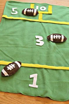 While cornhole is the go-totailgate party hit, this bean-bag tosscan be played indoors (perfect for February weather)and it's easy to create from scratch.Click through to find more fun game ideas for your Super Bowl party.