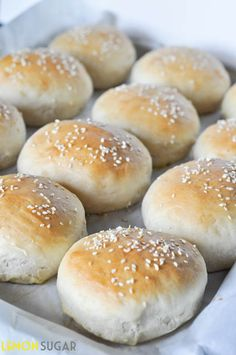 Quick and easy homemade hamburger buns perfect for the novice bread maker, these delicous buns will take your hamburgers and sandwiches up a notch!