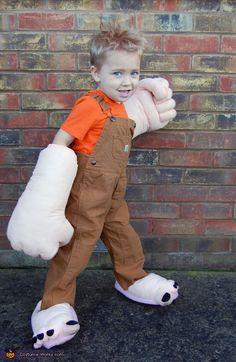Wreck-It Ralph Boy's Homemade Costume
