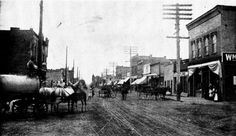 A picture of Payson Main Street in 1910 (above) taken at what is today 100 South and Main. While it offers a starkly different vision of transportation, power, street surface, and fashion, a few characteristics of the historic Payson Main Street remain today. Another photograph taken at this same intersection in 1950 can be found.... http://paysonchronicle.blogspot.com/2016/02/payson-historical-society-yesterday-and.html