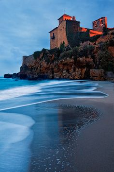 Spain - Tarragona: Old Gaurd by Jonathan Reid | Castell de Tamarit guards local villagers from any ocean based attacks near Tarragona in Spain.