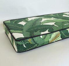 banana leaf cushion
