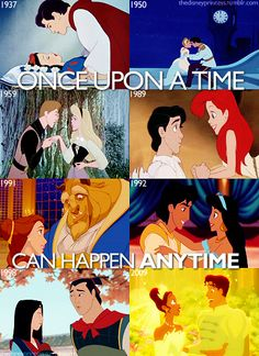 once upon a time     can happen any time   #disney