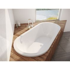 Find Decina 1690 x 755 x 476mm Lido Bath at Bunnings Warehouse. Visit your local store for the widest range of bathroom & plumbing products.