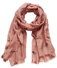 """Scarf """"X-Sparrow"""" by Becksöndergaard  #christmas #present #scarf #tuch #engelhorn  www.fashion.engelhorn.de"""
