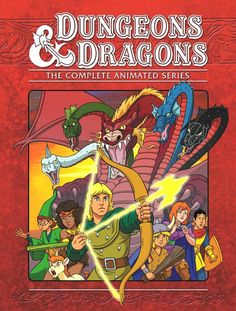 Dungeons And Dragons -- loved this cartoon. It wasn't on long enough.