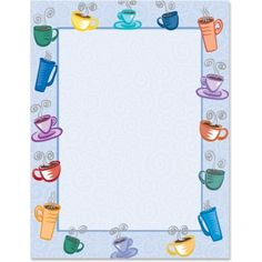 Coffee House PaperFrames™ - Paper Direct