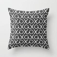 XOXO...LOVE Throw Pillow by TT+SMITH by Haina - $20.00