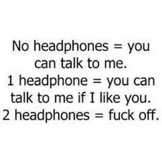 Gym headphones