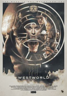 Westworld Alternative Poster - Created by Laura Racero