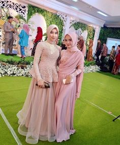 Kebaya Hijab, Kebaya Dress, Dress Pesta, Kebaya Muslim, Muslim Dress, Model Kebaya Modern Muslim, Baju India Muslim, Model Kebaya Brokat Modern, Dress Muslim Modern
