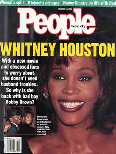 People Magazine - 1995 - Whitney Houston