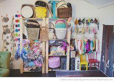 {DIY} Home Photography Studio Shed via Maria Johns and iHeartFaces.com