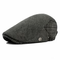 Cheap Hombre de la vendimia hueso mujeres casquillo macho sombrero de la  boina femenina del remiendo a42ba87e230