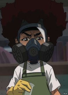 Huey Freeman Only Speaks The Truth Boondocks Black Girl Art