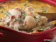 Classic country Amish Ham and Cheese Casserole takes advantage of some supermarket shortcuts.