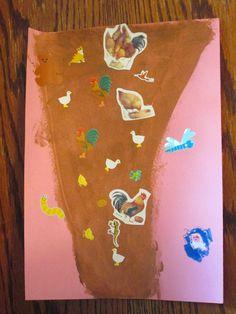 tornado painting with stickers - weather craft for kids - preschool - www.walkinthesunshineblog.blogspot.com