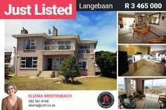 Spectacular views!!! For sale now in Myburgh Park in Langebaan. Well maintained with beautiful views from the main house as well as from ground floor flat. Main house offers entrance hall leading up to open plan living area overlooking the Langebaan lagoon. Dining area. Enclosed braai area with built-in braai leading out onto balconies with beautiful views over the lagoon. Open plan kitchen with built-in cupboards. #CCH #westcoast #langebaan #myburghpark #myburghparkhouses Built In Braai, Provinces Of South Africa, Built In Cupboards, 5 Bedroom House, Entrance Hall, Open Plan Living, Coastal Homes, Maine House, Balconies