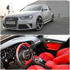 #Prismasilver meets #Red   #Audi #RS4 #AudiRS4 #quattro images by @gazmagazine Red Audi, Rs 4, Car Car, Audi Rs4, Savage, Cars And Motorcycles, Cool Cars, Sick, Instagram