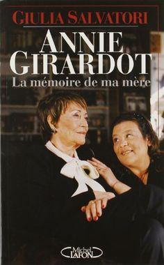 """mes lectures - Annie Girardot """"La mémoire de ma mère""""  http://tricotdamandine.over-blog.com/2014/09/mes-lectures-annie-giraradot-la-memoire-de-ma-mere.html"""