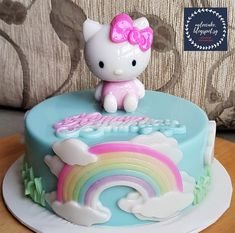 Birthday Cake Gif, Kfc Chicken Recipe, Agar Agar Jelly, Disney Cake Toppers, Gelatin Recipes, Jelly Cake, Hello Kitty Cake, Cake Games, Cat Party