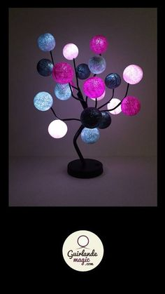 Arbre lumineux Guirlande lumineuse no l Pinterest