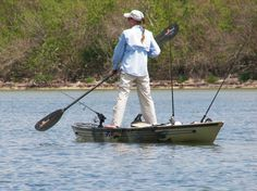Dee Kaminski, voted guide of the year in the Kayak Angler Choice awards and pro staff for Native Watercraft.