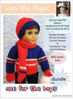 One For The Boys Bundle Crochet Pattern