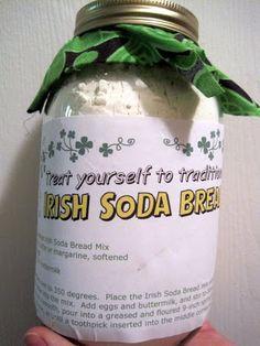 Irish Soda Bread Mix in a Jar