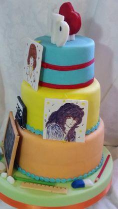 kiss me licia cake