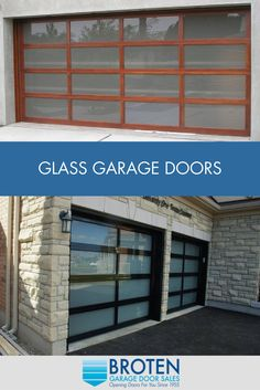 Broten Offers Different Window Options That Allow You To Choose The Right  Degree Of Natural Light. Glass Garage DoorGarage ...