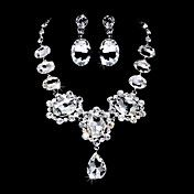 Fantastic Alloy Silver Plated With Clear Zirc... – USD $ 39.99