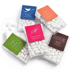 Personalized Tic Tac Favors