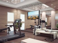 knightsbridge house  gym room at home home gym decor
