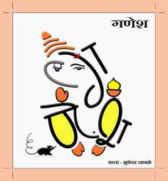 Lord Ganesha Profile Picture with Your Name from Akshar Roop |Ganesh Punjabi's…