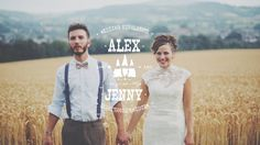 wildflowers, a pretty Summer meadow and a day busting with outdoor celebrations, love and laughter | Wedding Film by http://www.costasisterproductions.co.uk/