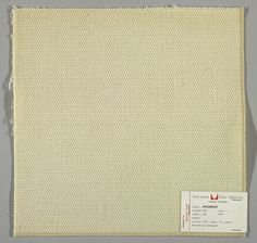 @hermanmiller Alexander Girard Plain weave in white with every third weft doubled. Warp contains supplementary binding warps. Number 356.