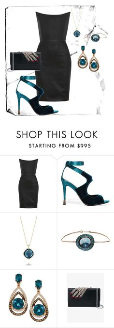"""Sem título #68"" by hisabelladelima ❤ liked on Polyvore featuring Gareth Pugh, Tom Ford, Tacori, Annoushka, LE VIAN, Alexander McQueen, DailyFind, classic, Sexy and polyvorecommunity"