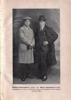 Dada Almanach : Richard Huelsenbeck et Raoul Hausmann