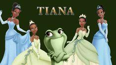 Disney Princess Tiana Characters