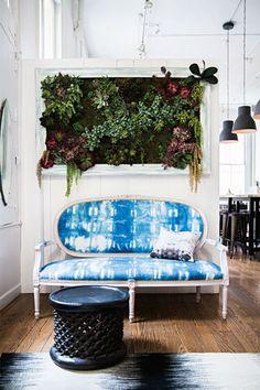 Tie dye sofa