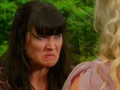 Xena trying to teach feminism to an airhead :) gif
