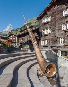 ALPHORN Sculpture by Paolo Albertelli, Mariagrazia Abbaldo - Studio C&C - (photo by Nicola Dell'Aquila)