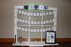 Wedding Shower Name Tags