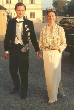 King Carl XVI Gustaf and Queen Silvia