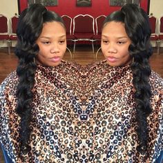 STYLIST FEATURE| Love this #Beyonce inspired side pony styled by #ShreveportStylist @fancylips88 Spotted @IamTonjra❤️ #VoiceOfHair ========================= Go To: www.VoiceOfHair.com =========================  Free eBook on Hairstyles for All Women