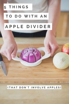 Onions for kebabs? Mozzarella for pasta? What about potatoes for steak fries? Check out all of the cool things you can do with an OXO Apple Divider!