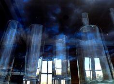 Reflexos, nuvens e vidros. São Paulo.