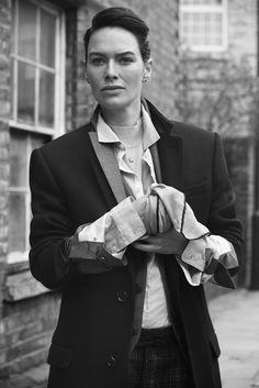 homicidalbrunette:  edenliaothewomb:  Lena Headey, photographed byAlan Clarke forJocks & Nerds, winter 2015.  ARE YOU FUCKING KIDDING ME?